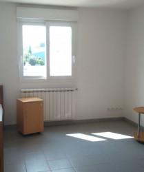 Vue chambre étudiante du Lycée Agricole de Gignac
