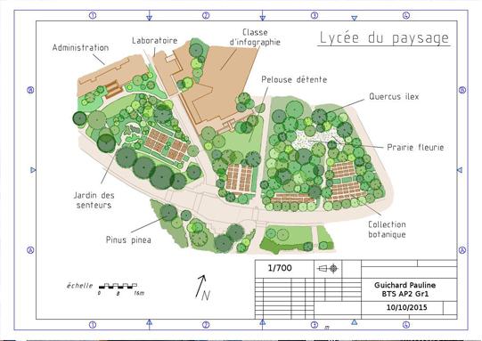 Btsa am nagements paysagers jardignac lyc e agricole de for Amenagements paysagers