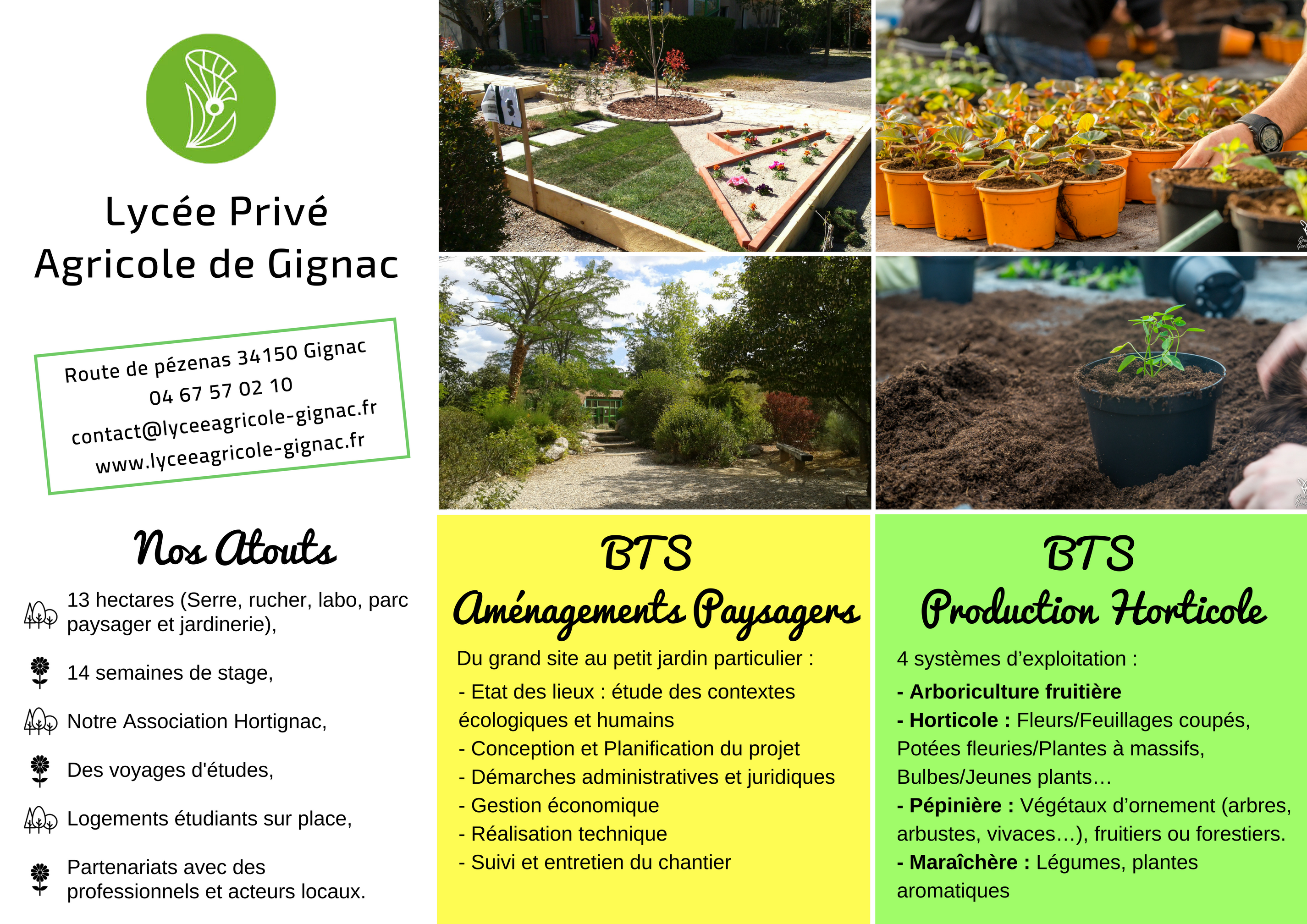 Tag Bts Lycee Agricole De Gignac