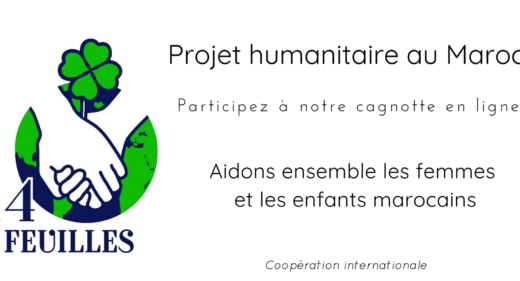 Projet humanitaire maroc